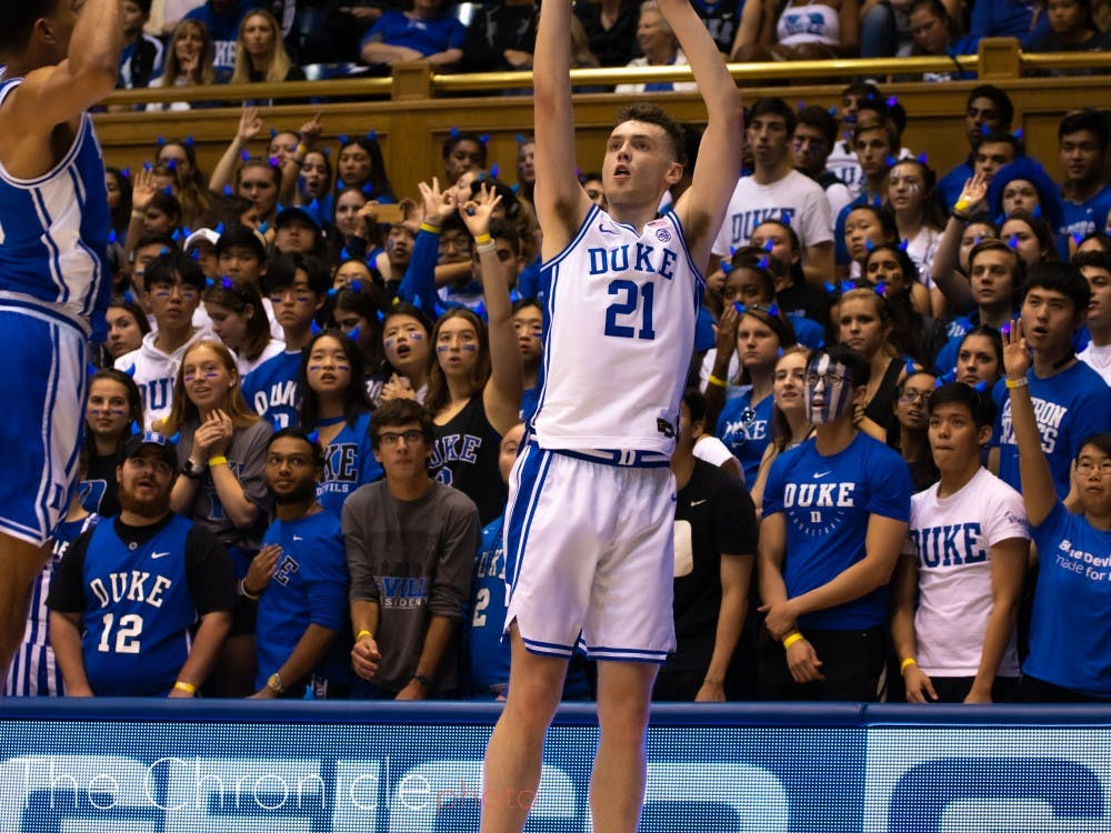 Matthew Hurt and Duke's other freshmen did not impress in their exhibition debuts.