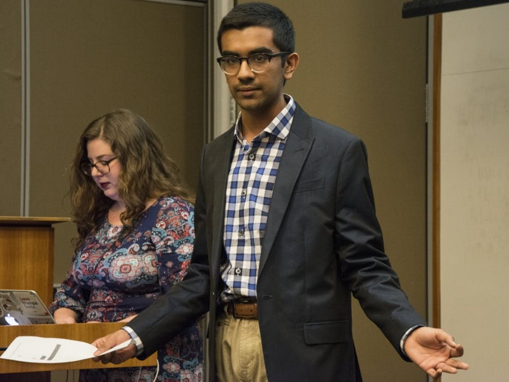 The Muslim Students Association and the Duke Catholic Center both received funding during Wednesday's DSG meeting.