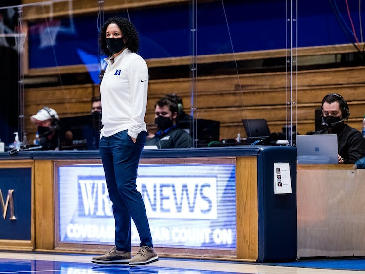 Head coach Kara Lawson has Duke amongst the finalists of a number of the top 2022 recruits.