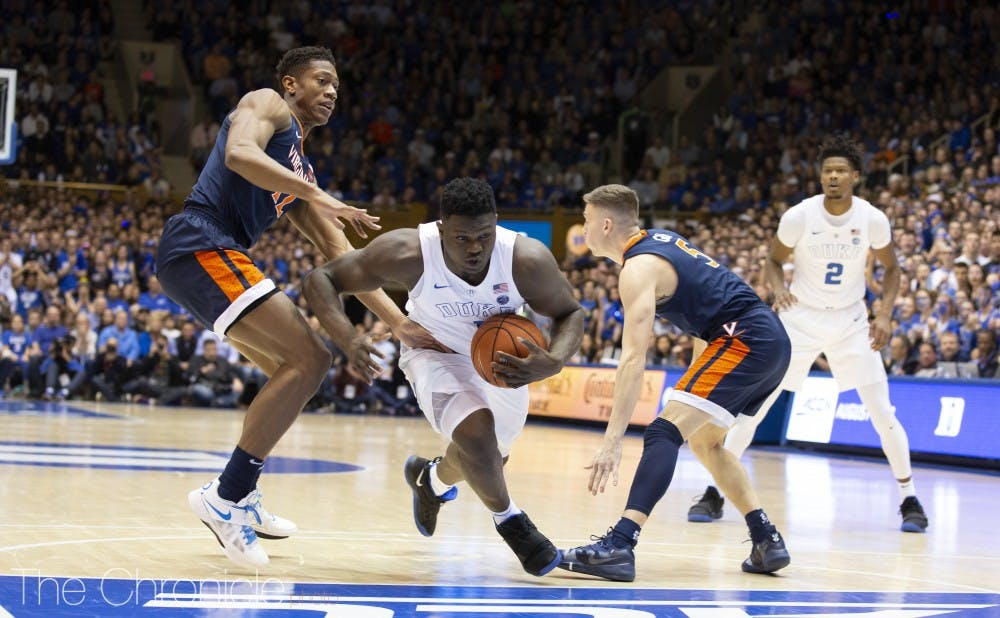 <p>Zion Williamson has consistently dominated teams in the paint.</p>