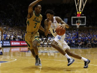 Duke freshman Brandon Ingram and Louisiana State rookie Ben Simmons are required to go to at least one year of school before being eligible to make the move to the NBA.