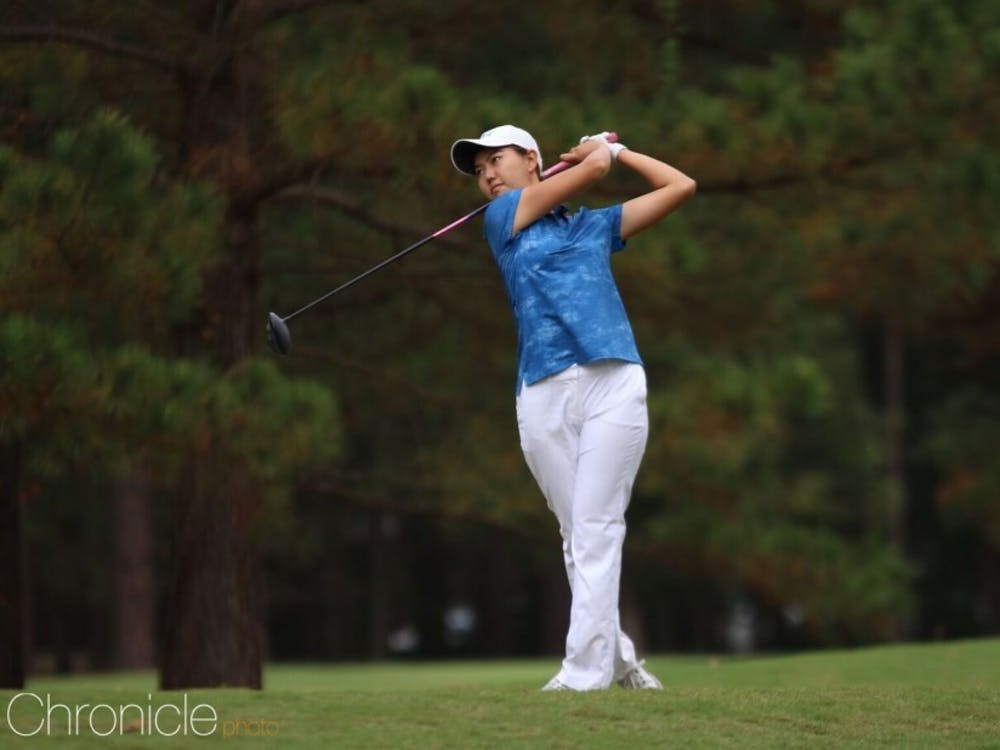 Junior Miranda Wang led the field in birdies in both of Duke's spring tournaments.