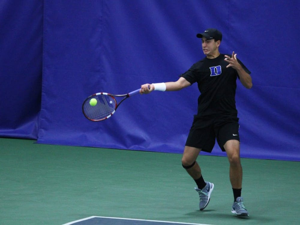 Freshman Nicolas Alvarez will lead the Blue Devils into a pair of matchups against Big Ten foes this weekend.