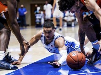 Jordan Goldwire's defensive effort will be essential if Duke hopes to upset Virginia Saturday night.