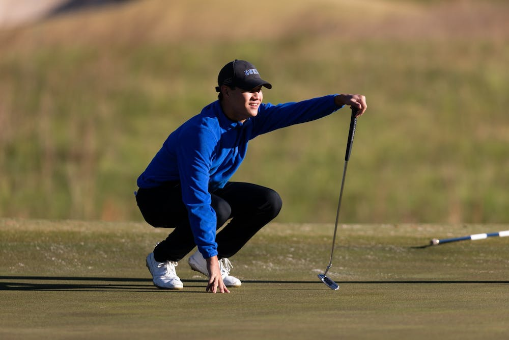 Freshman Ian Siebers paced the Blue Devils in the regionals, finishing two days under par.