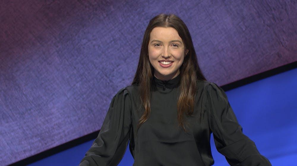 <p>Grace Jeffrey, Trinity '21, will appear on Jeopardy! Thursday evening.</p>