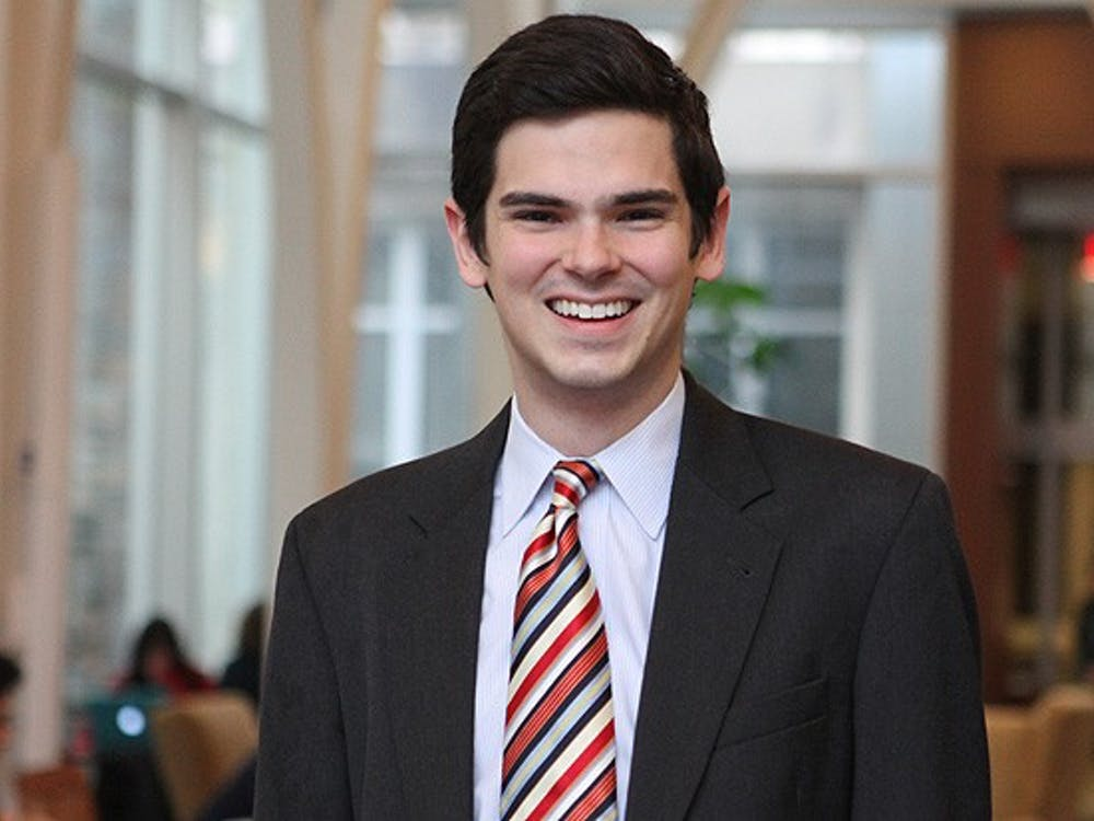 Junior Patrick Oathout from Texas is running for Duke Student Government president. The election will take place March 7.