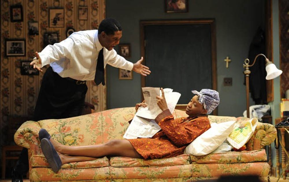 PlayMakers Repertory Company production of A Raisin in the Sun.