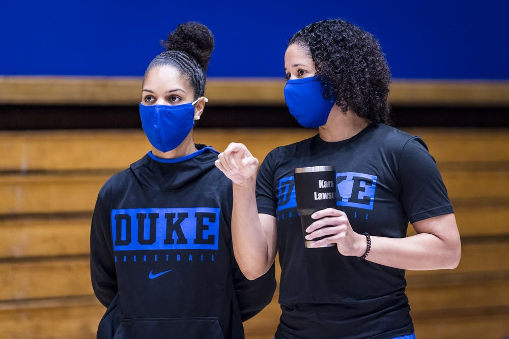 <p>Lawson is quickly Duke's women's basketball program in 2020.</p>