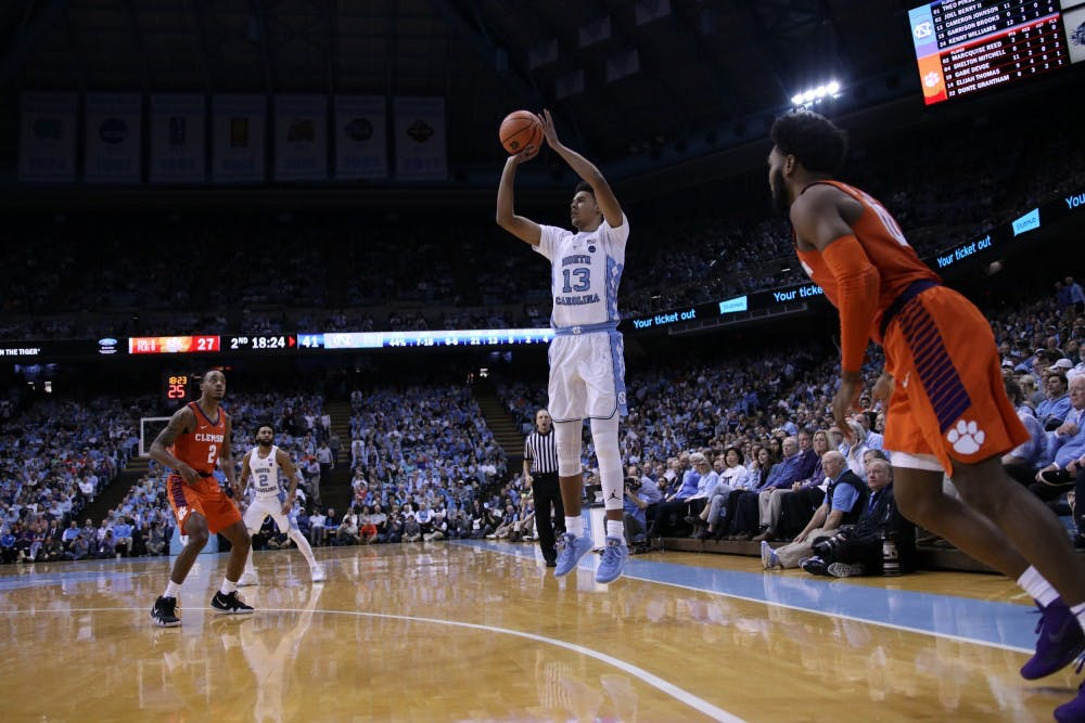 Cameron Johnson turns criticism into career high for UNC against Clemson