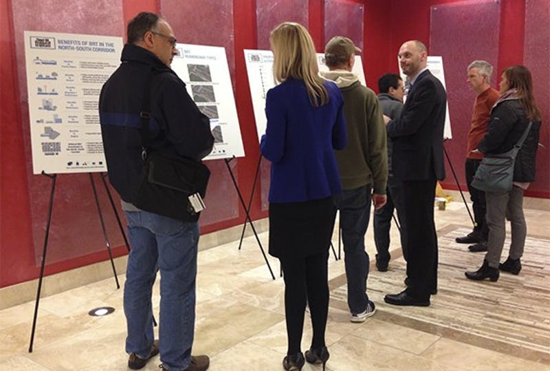 Chapel Hill Transit hosted meetings to discuss a route to connect the Eubanks Road Park and Southern Village shopping center.
