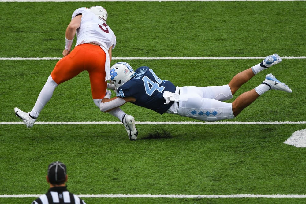 'Take it week-by-week': UNC football prepares for top 25 matchup with N.C. State