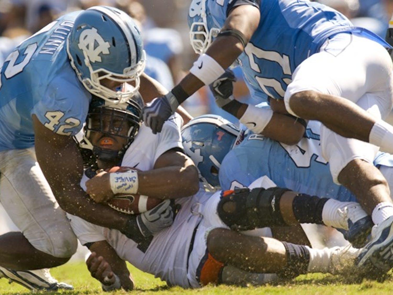 ... on Saturday, October 3, 2009 at Kenan Memorial Stadium in Chapel Hill, NC.