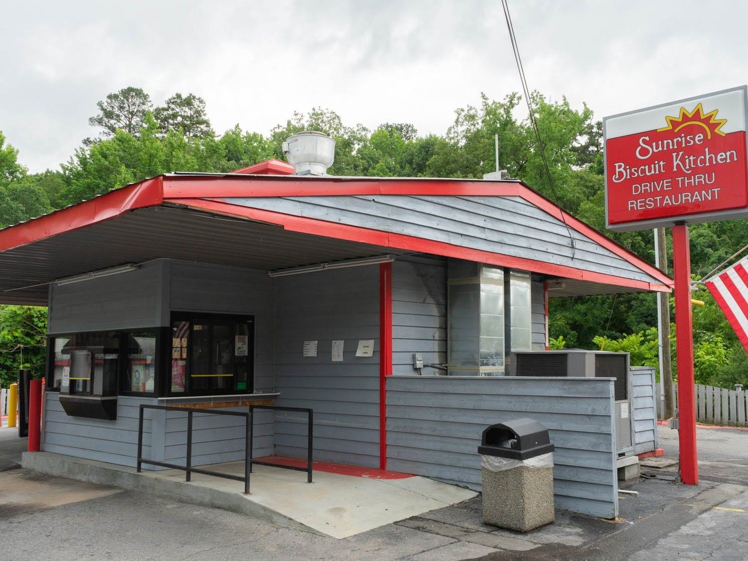 Sunrise Biscuit Kitchen sits on East Franklin Street in Chapel Hill on Thursday, June 10th, 2021.