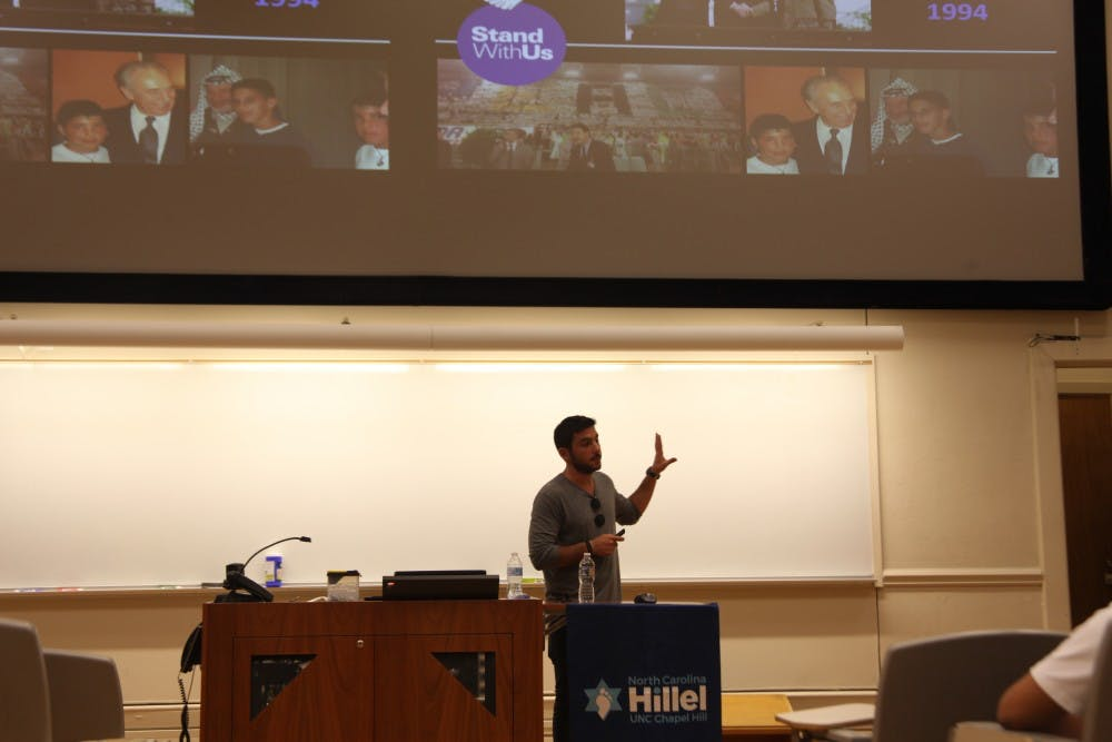 Israeli reservists come to UNC to share their story with students