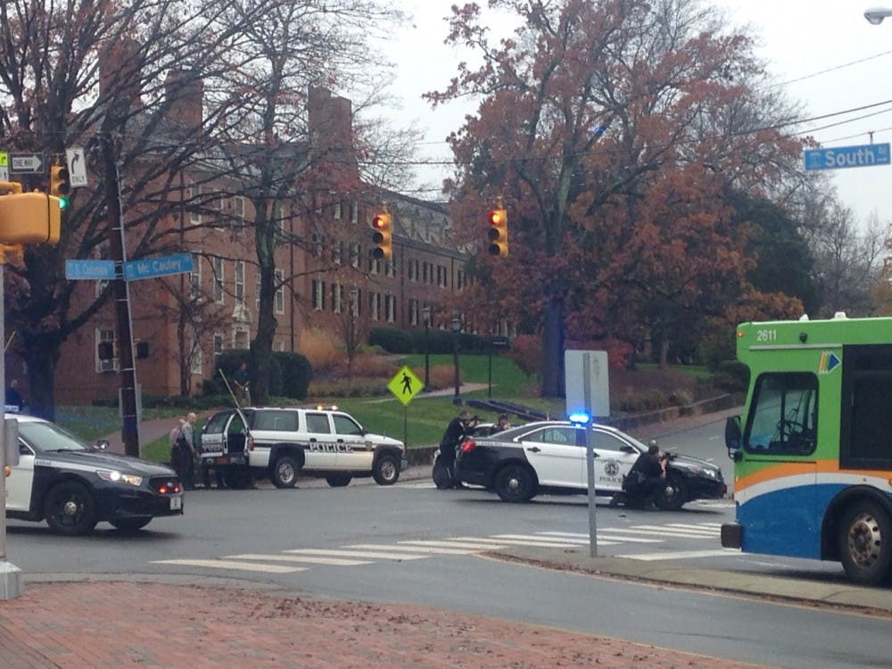 UNC lockdown: No armed person found on campus