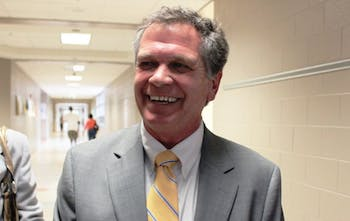Dr. Thomas a. Forcella was introduced as the new Superintendent of Chapel Hill-Carrboro City Schools at the Board of Education Special Meeting, held at Smith Middle School. Previously Dr. Forcella held the position of Superintendent of Guilford Connecticut Public Schools.