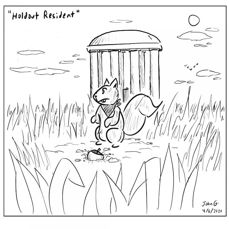 Cartoon: Holdout