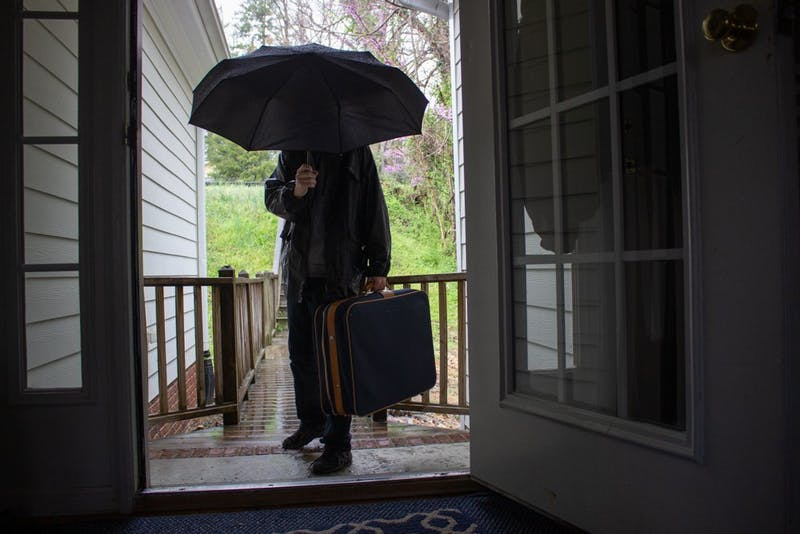 DTH photo illustration. Airbnb provides 20 percent of all visitor stays in Chapel Hill as it leads the short-term rental (STR) market in Orange County. Around 290 Airbnbs remain in Chapel Hill, which could threaten affordable housing by taking away rental properties and raising the price of rent.