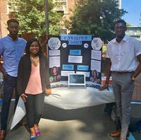 Carolina Closet plans to provide UNC students with business wear. Photo courtesy of Chuka Akpom.