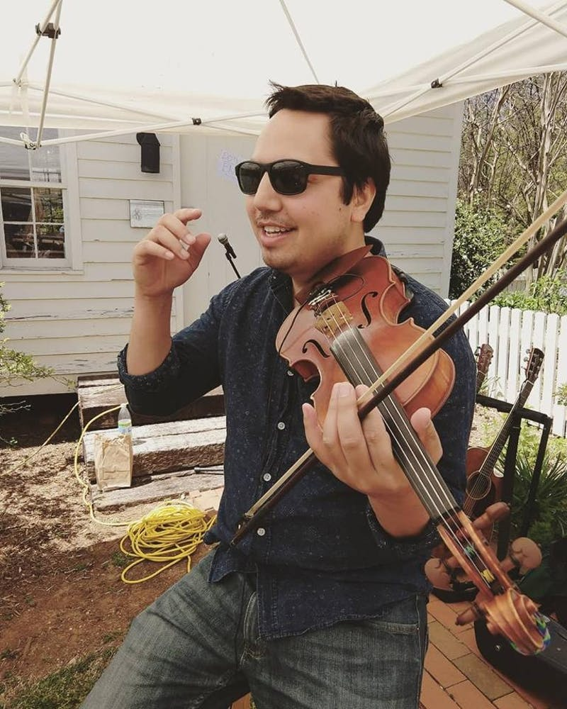 Local violinist and mental health advocate David Binanay is better known as Violin Remix. Photo courtesy of David Binanay.