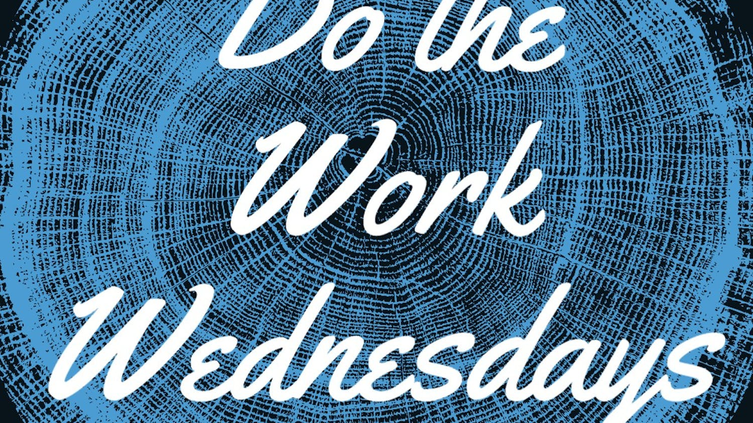 The logo for the Do the Work Wednesdays series. Courtesy of Cat Zachary.