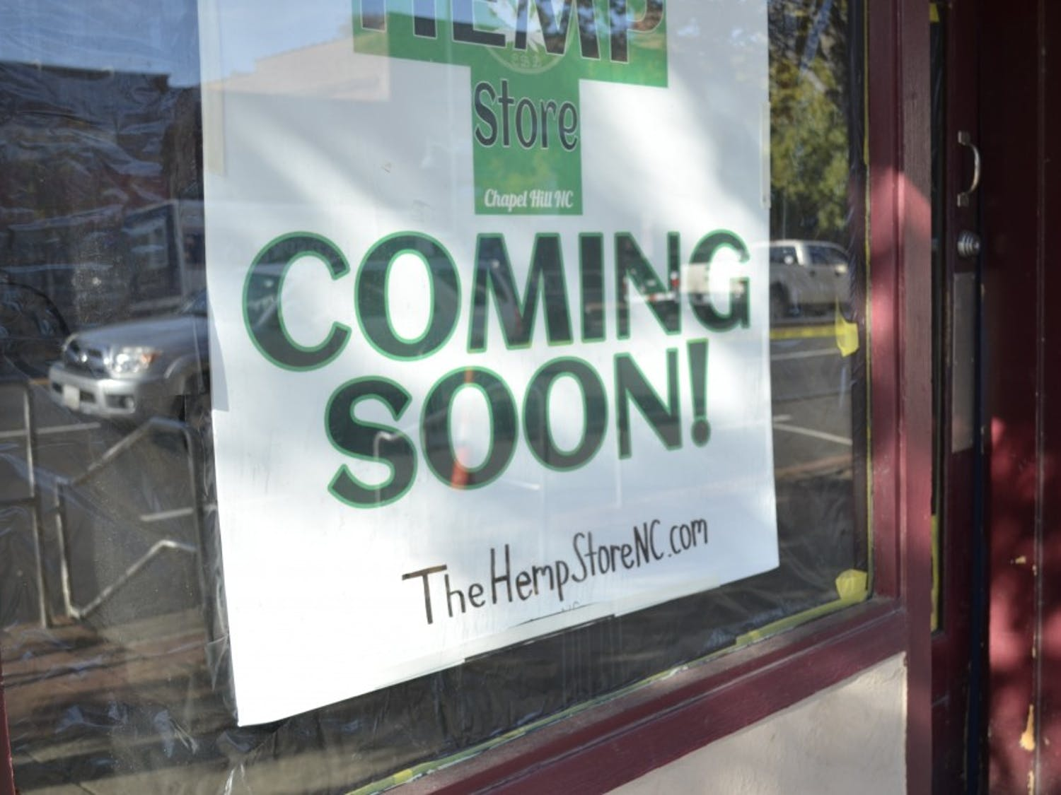 The Hemp Store on Wednesday, Oct. 31, 2018 is opening soon on Franklin Street.