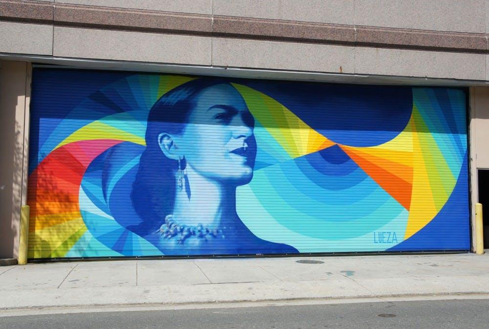 Downtown Durham murals celebrate Mexican modernism