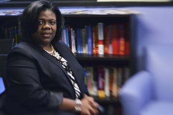 Dr. Taffye Clayton, Associate Vice Chancellor for Diversity and Multicultural Affairs and Chief Diversity Officer, is a campus leader for diversity. She received an award as the Leader in Diversity by Triangle Business Magazine on Thursday.