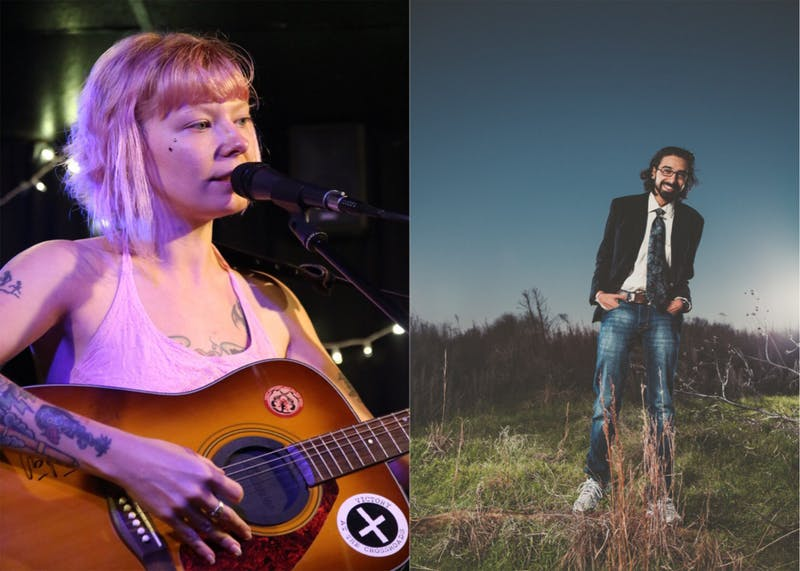 "Songwriter Liss Victory and comedian Krish Mohan will perform at The Cave Nov. 18 as a part of ""The Transcontinental Tour,"" celebrating their engagement. Photo courtesy of Liss Victory."