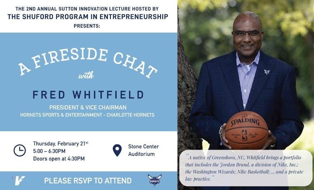 President of Charlotte Hornets to lecture at Shuford Program in Entrepreneurship
