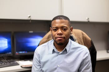 Henry Willis is a graduate student in the psychology program and is working to create a mobile application for mental health for African American young adults.