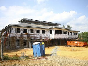 Construction continues on the Chapel Hill-Carrboro Inter-Faith Council for Social Services' men's homeless shelter and community kitchen's new location.