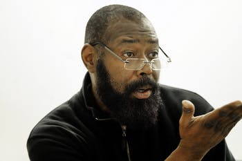 Randall Kenan, a pillar of the Black, LGBTQ+ and North Carolina communities and a professor of creative writing at UNC, died on Aug. 28 at 57 years old. Photo by Donn Young.