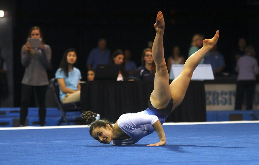 Injuries plague UNC gymnastics against William & Mary