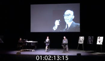 A screenshot of a previous incarnation of the show. Video by Henry Felt.