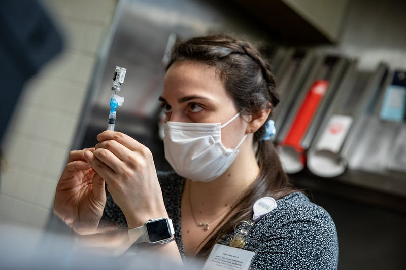 In a step toward normalcy, UNC vaccinates its first students