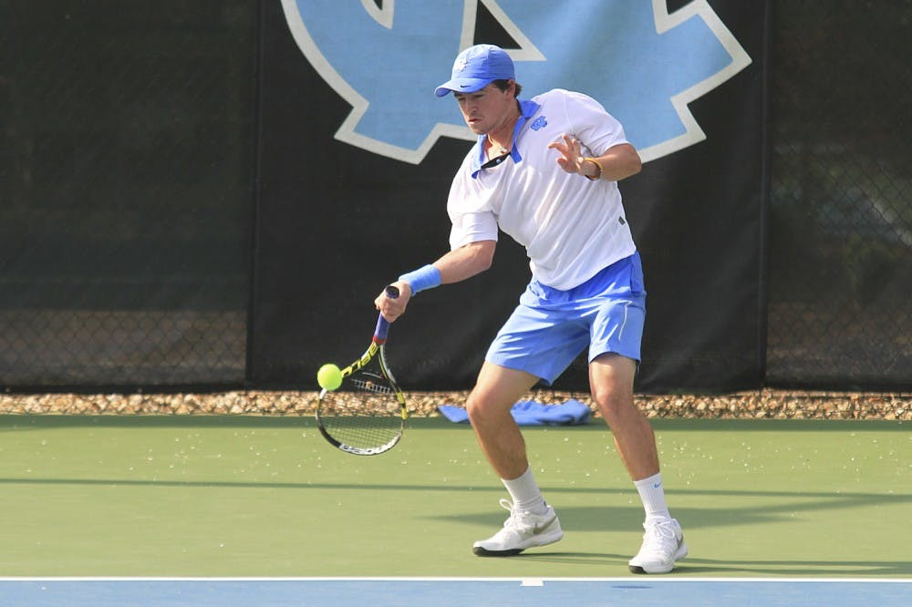 Business as usual for UNC's men's tennis as they take down Clemson