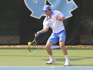 Men's tennis vs Duke