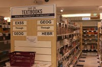 Textbooks and online interactive codes are purchased either at the UNC Student Store or online that are required by their professors for their course.