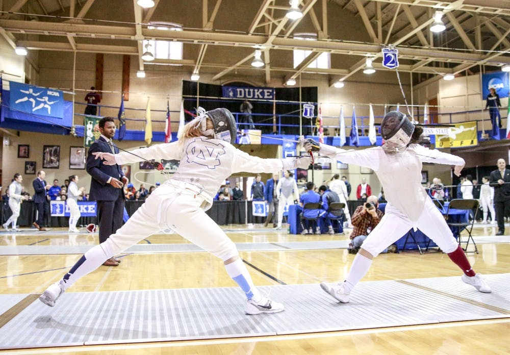 Ron Miller earns 1,600th win as UNC fencing head coach over weekend meet
