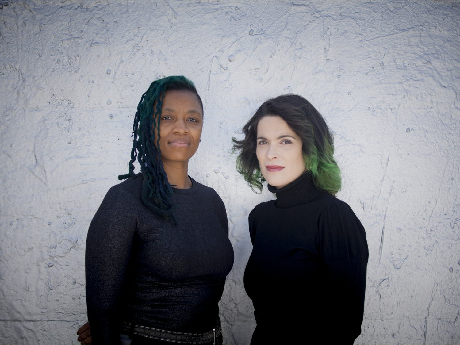 Cristina Pato and Mazz Swift who will be performing Invisible(s) on Friday, Jan.17, 2020. Photo courtesy of Xan Padron.