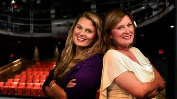 "Ashley Maria and Lea-Ann Berst are the creators of ""Pioneers in Skirts,"" a film about achieving gender parity in the workplace. Photo courtesy of Ashley Maria."