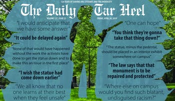 Silent Sam update/future graphic