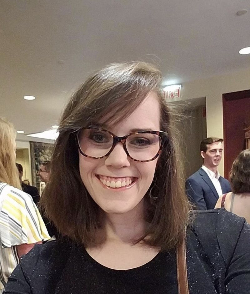 Picture of Emily Krupa, the current president of the Carolina Creative Writing Association. Photo courtesy of Emily Krupa.