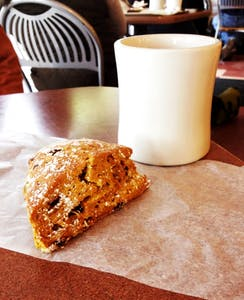 Enjoy the taste of autumn with Weaver Street Market's pumpkin scones.