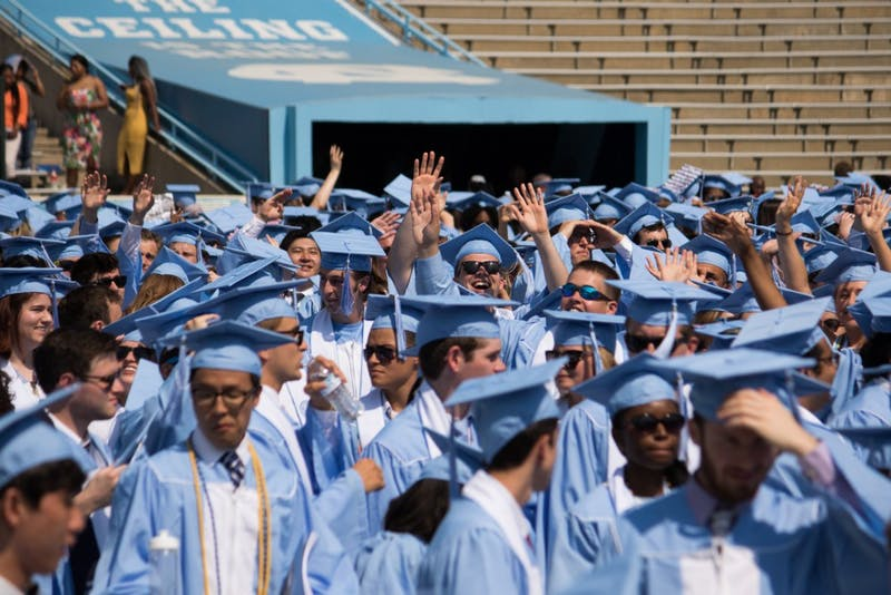 Gallery: UNC Class of 2018 Spring Commencement