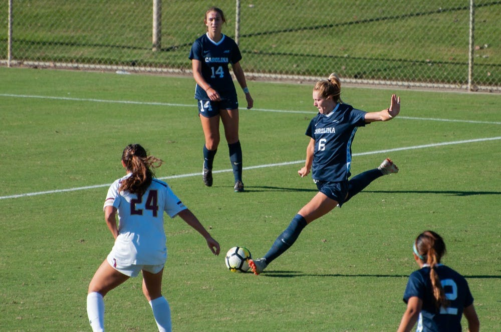 After multiple knee injuries, Taylor Otto is ready to lead UNC women's soccer