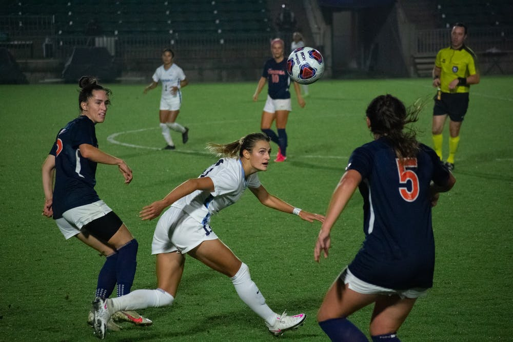 UNC women's soccer takes down the Cavaliers in a hard fought match