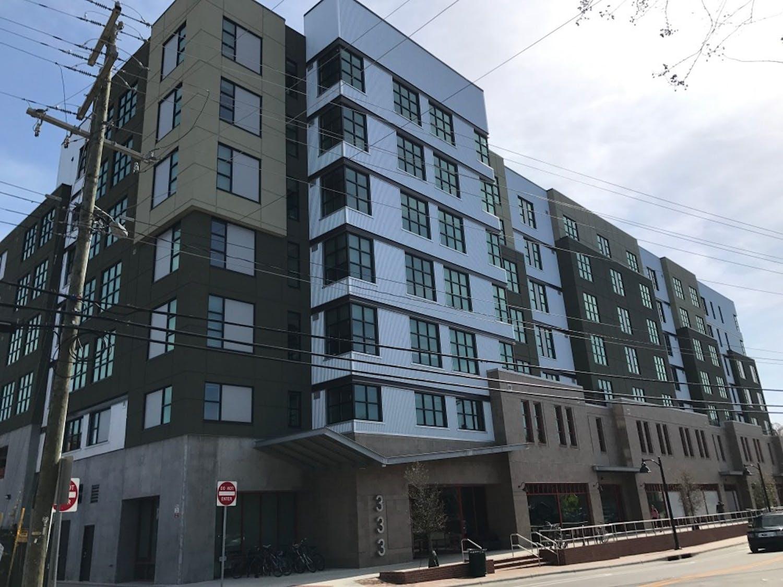 Apartment complex Shortbread Lofts. Photo Courtesy of Daryl Kondstandt.